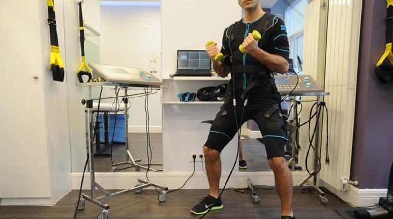 La estimulación eléctrica del músculo como entrenamiento de todo el cuerpo